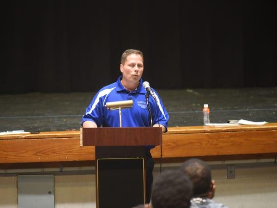 Ken Cieslak, Teaneck High School's athletic trainer,
