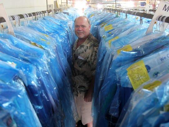 Dan Puleio  owns Cape Cleaners.
