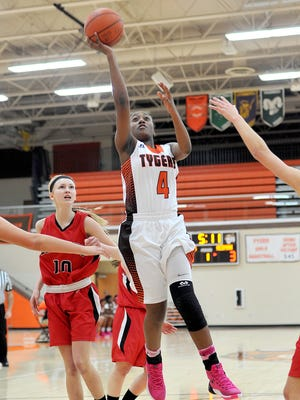 Mansfield Senior guard Erica Johnson is one of four returning starters for the Tygers' 2016-17 season