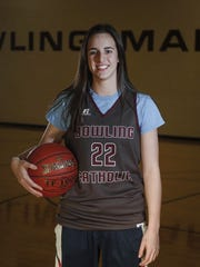 West Des Moines Dowling Catholic's Caitlin Clark is one of the top sophomore basketball players in the country.