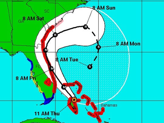 Matthew could loop back and potentially hit Florida