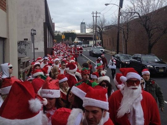 Running of the Santas returns to Philadelphia and Atlantic