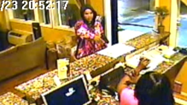 Still from surveillance video