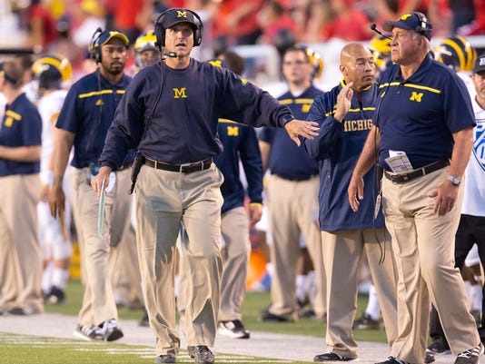 NCAA Football: Michigan at Utah