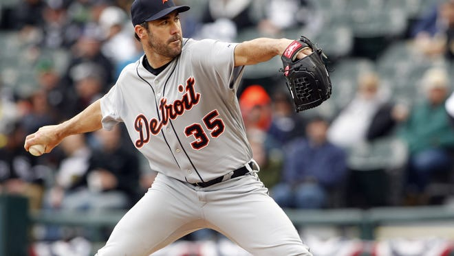 Justin Verlander struck out 10 in his 2017 debut.