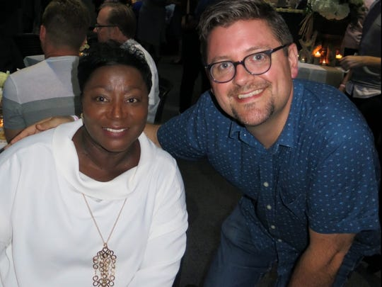 Mary Rounds and Chris Jay at Gay & Lesbian Film Festival