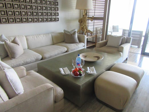 Luxury for less caribbean resorts on sale in summer for Living room suites for sale