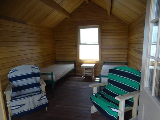 New state park cabins get local treatment for Camp joy ohio cabins