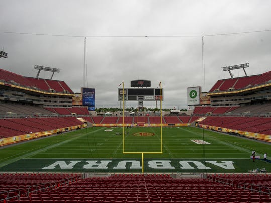 Outback Bowl Field Prep