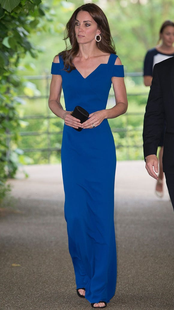 6c4cbba2 Kate Middleton scores with SportsAid gala gown