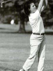 Vanessa Picciotto golfing for Wagner.