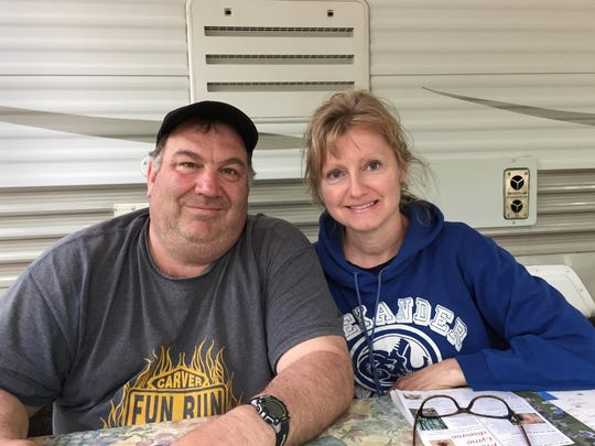 Dawn and Mark Sagstetter of Watertown graduated from