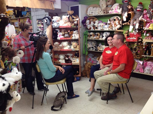 "NBC's ""TODAY"" show at Veach's Toy Station"
