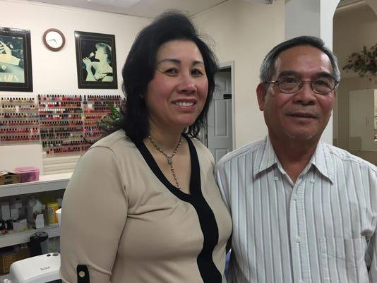 Khanh and Ngoc Vu
