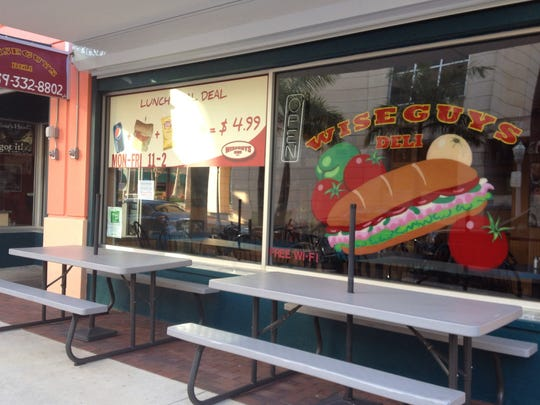 Brian and Peggy Cahoon took over Wise Guys Deli in downtown Fort Myers on April 15.