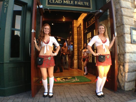 Tilted Kilt was located on U.S. 41, in a building that