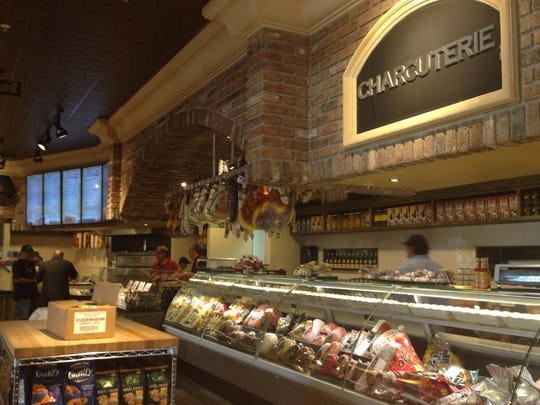 A view of the market's charcuterie department at DeRomo's Gourmet Market and Restaurant at The Promenade in Bonita Springs.