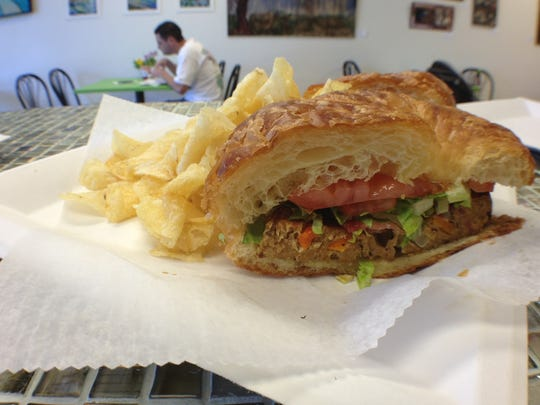 A turkey meatloaf BLT from Restoratives Cafe in Estero.