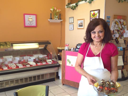 Freda Muribi, owner of Cedar Café in Cape Coral, has