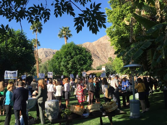Several hundred tourism industry professionals from across the state gathered at the La Quinta Club and Resort on Monday and Tuesday for the 2015 Visit California Outlook Forum. The grounds of the historic resort are popular gathering areas for convention attendees to the region.