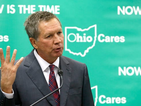 Ohio Gov. John Kasich engineered the expansion of Medicaid in Ohio.