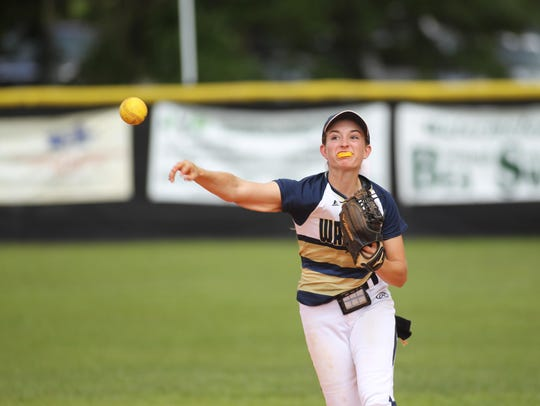 Aucilla Christian senior shortstop Carly Joiner is