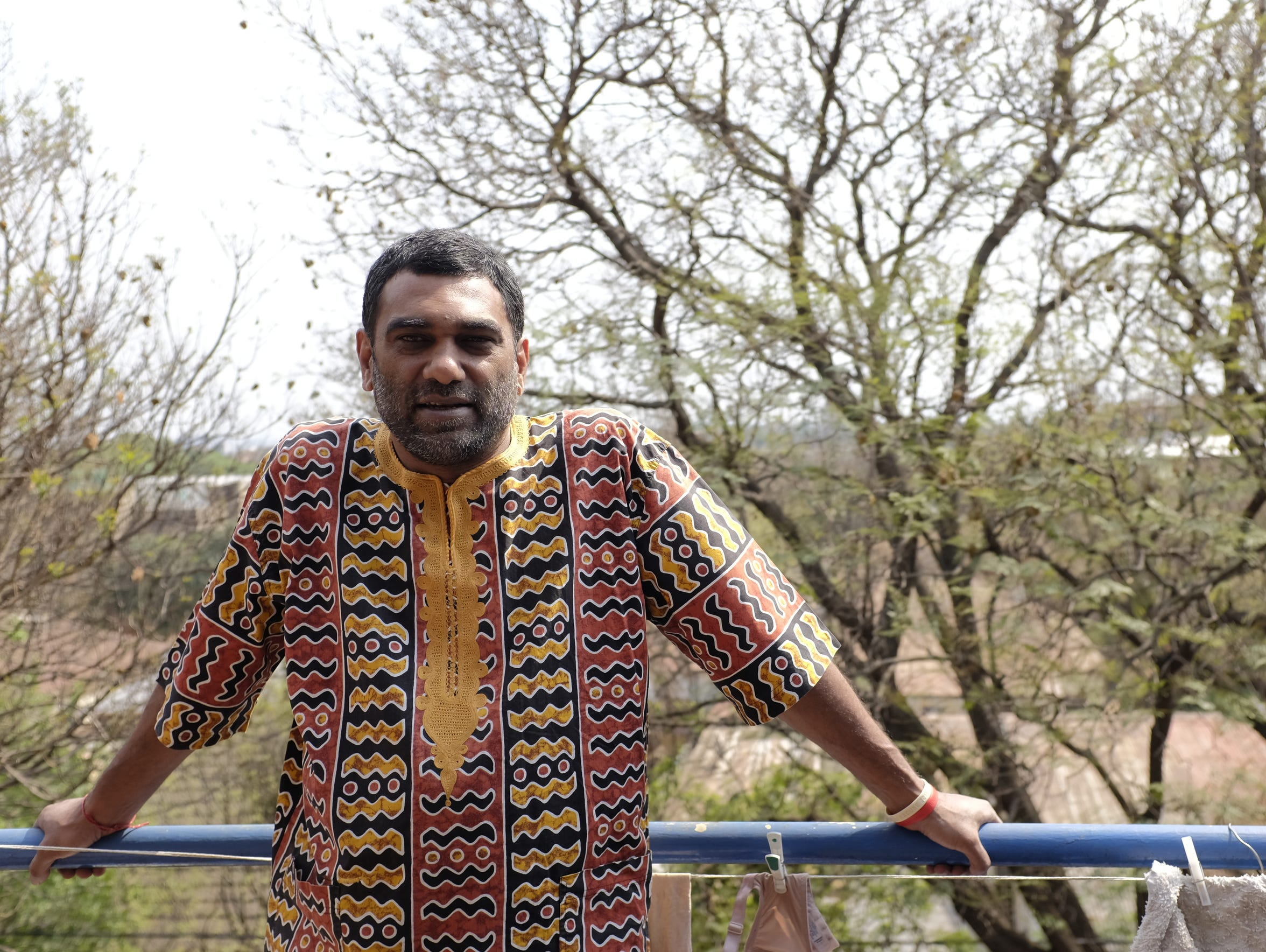 Kumi Naidoo, a former director at Greenpeace and the