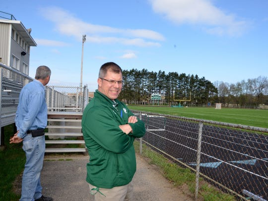 Pennfield Schools Athletic Director Brett Steele and