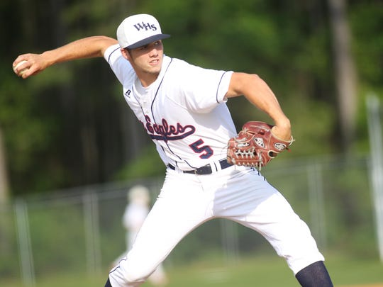 Former Wakulla pitcher Aaron Ginn had an outstanding