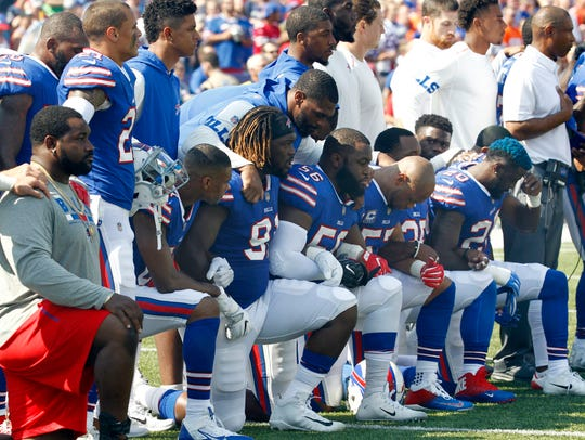 In this Sunday, Sept. 24, 2017, file photo, Buffalo