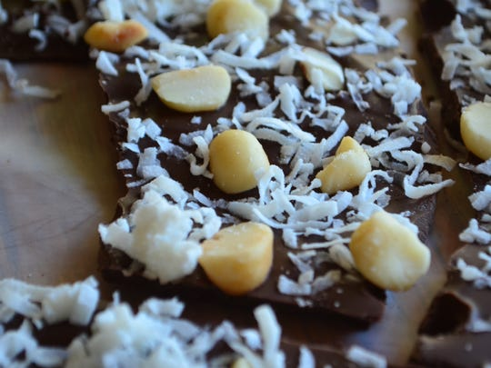 Macadamia nuts and shredded coconut is all you need