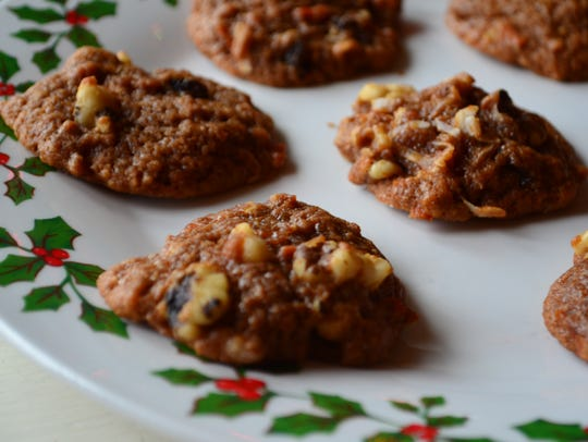 This cookie is similar in taste to carrot cake, but