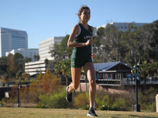 Chiles senior Ana Wallace is the 2017 All-Big Bend Runner of the Year for girls cross country after winning a Class 3A state title, setting an all-time area best 5K time (17:26) and finishing third and sixth, respectively, at Foot Locker South and Nationals.