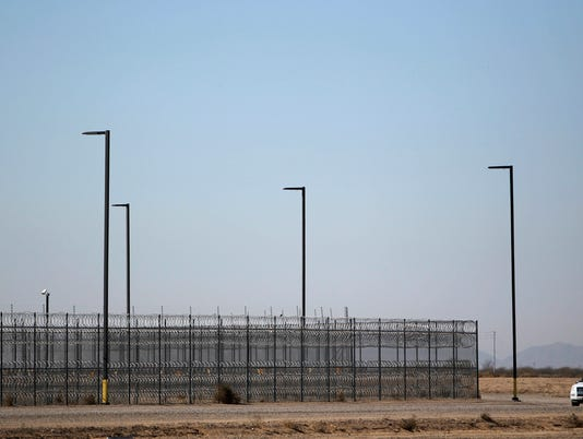 Inmates rioting at Red Rock Correction Center