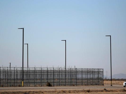 Inmates rioting at Red Rock Correction Center