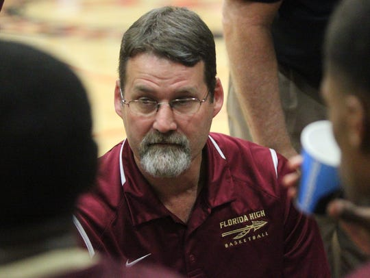 Florida High boys basketball coach Todd McNeil talks