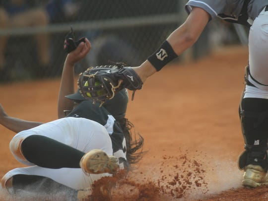 Oakleaf vs. Chiles softball, Region 1-8A semifinal, Tuesday, May 8, 2018