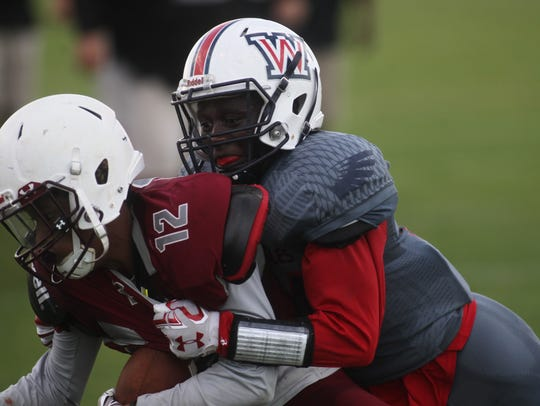 Wakulla vs. Madison County, spring football game, Thursday,