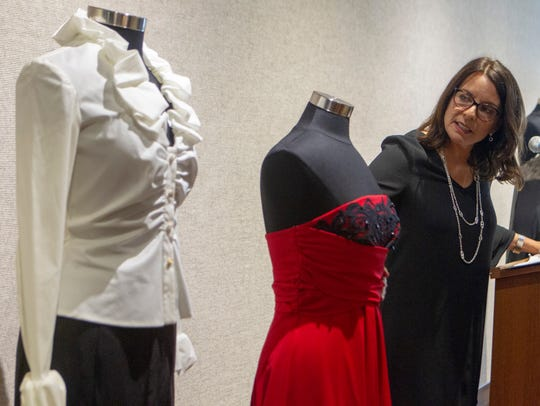 Fashion designer Donna Ricco was introduced as an executive