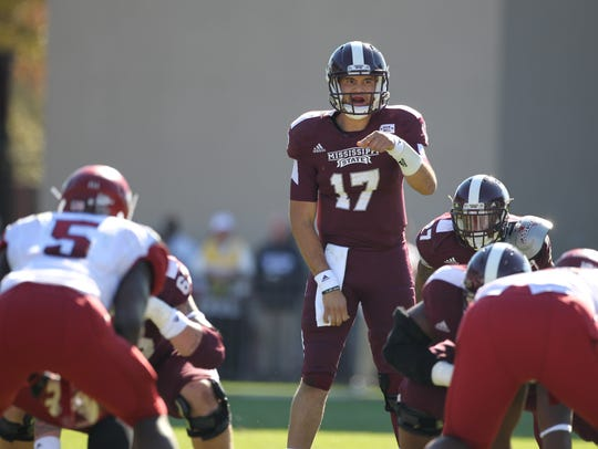 At Mississippi State, quarterback Tyler Russell set