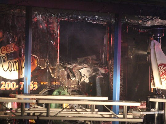 A grease fire that got out of control damaged the Lonestar