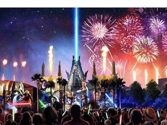 Walt Disney World Resort SW_Spectacular_Artist Concept