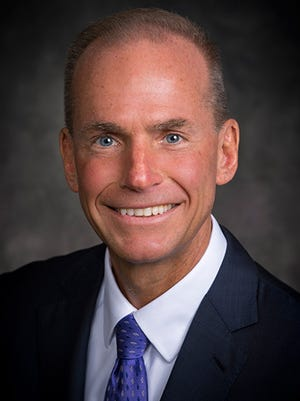 Dennis Muilenburg, who was named the tenth CEO of Boeing in 2015.