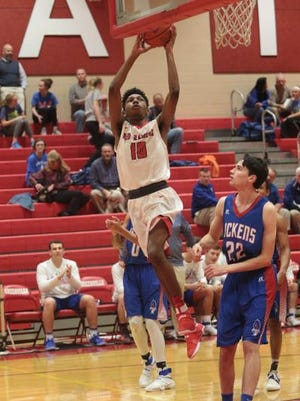 Greenville hosted Pickens in basketball action Wednesday  January 11,2017