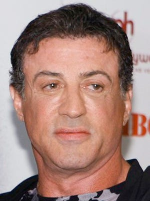 Sylvester Stallone is well-known for his role as Philadelphia boxer Rocky Balboa.
