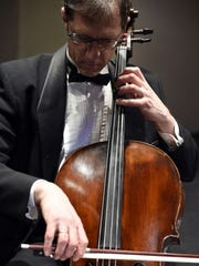 "KSO cellist Andy Bryenton will be among musicians performing during the ""Craft"" event."