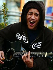 Guam son Tim Balajadia is pursuing music in the States and has auditioned for America's Got Talent.