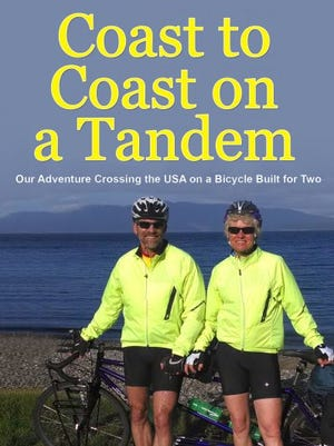 """""""Coast to Coast on a Tandem"""" by Tracy and Peter Flucke"""