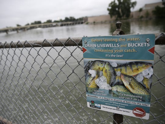 The Wisconsin Department of Natural Resources is asking for help from ice fishermen this winter to report any catches of round gobies in the lower Fox River above the Rapide Croche Dam, in Little Lake Butte des Morts and in Lake Winnebago.