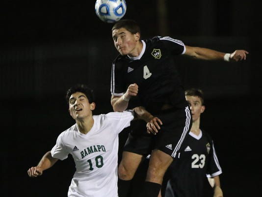 Hopewell Valley vs Ramapo -- Boys Soccer State Semi-Final --
